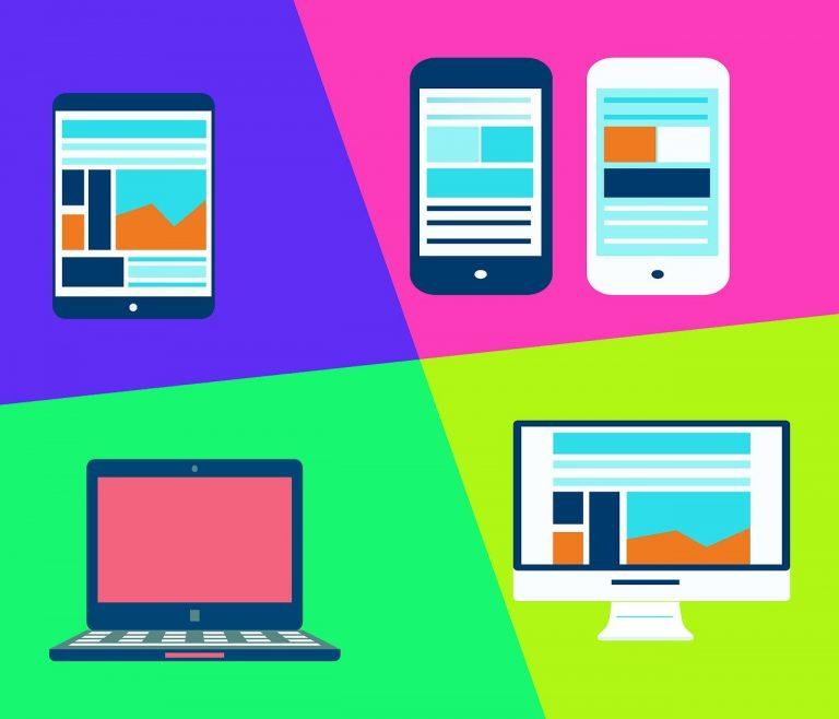 Web dizajn prilagodjen razlicitim uredjajima za sajt milosmarkovic.rs